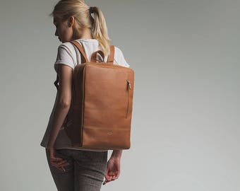 Leather backpack   Etsy