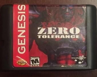 Beyond Zero Tolerance Fan Made Custom Sega Genesis Game. 16bit
