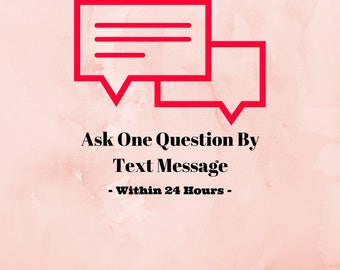 Ask One Question by Text Message - Psychic Reading Under 24 Hours - PDF