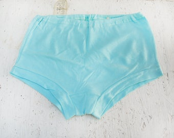 Vintage women's underwear - Mint underpants - Soviet vintage lingerie - Cotton - Retro knickers - Knitted underpants - Knitted shorts - new
