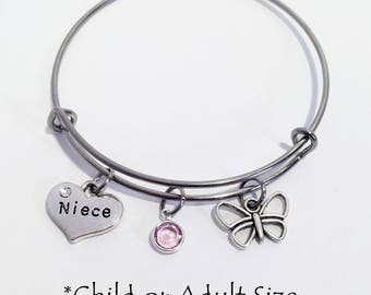Gift for Niece, Kids Bracelet, Birthday Gift for Niece, Niece Gift, Thank You Gift for Niece, Niece Jewelry, Niece Bracelet, Aunt and Niece