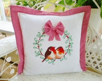 Pillow cover Robin