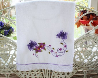 Terry Towel with Embroidery