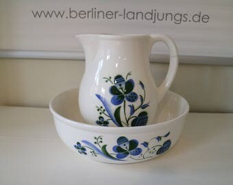 Ceramic bowl and mug from the past