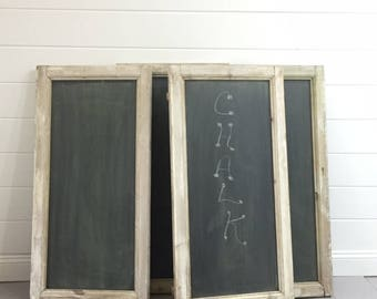 Antique French Window frame Chalkboard (s) (repurposed into chalkboards), Springfield VA Pick Up