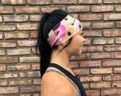 Donut Party   Yoga Headband   Workout Headband   Fitness Headband   Running Headband   Wide Headband   Pilates Headband   Barre Headband