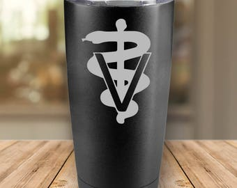 Veterinarian Tumbler - Free Personalization - Gift for Him or Her - Christmas Gift