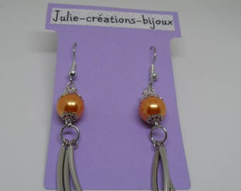 Earrings beads and tubes