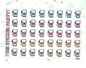 Gas Pump Planner Stickers