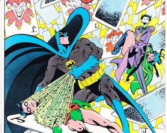 Detective Comics 569, the Joker, Catwoman and Batman comic, Robin book. 1986 DC Comics in NM (9.4)