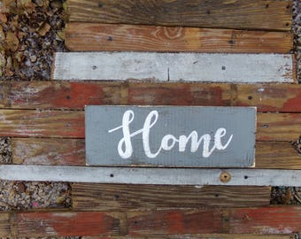 Rustic Home Sign, Farmhouse Welcome Sign, Log Cabin Sign, Rustic Wood Sign, Farmhouse Style Sign, Gift for Home, Welcome Sign, Entryway Sign