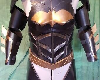Batgurl AK style diy foam armor TEMPLATES