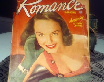 Early mid-century (c. December 1951) Romance magazine published by Popular Publications in Canada. Complete. Pulp Fiction!