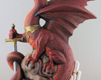 Warlord Dragon; Red
