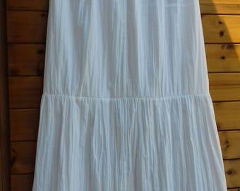 White Underskirt/Petticoat underskirt long vintage/