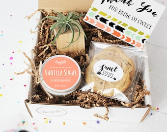 Thank You For Being So Sweet Airplant Gift Box -  Appreciation Gift | Best Friend Gift | Teacher Gift |  Room Parent Gift | Thank You Gift