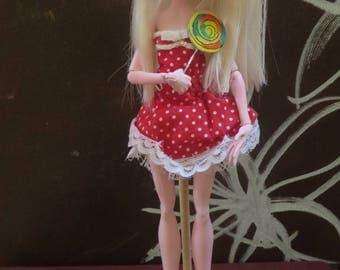 Allison Harvard OOAK art doll