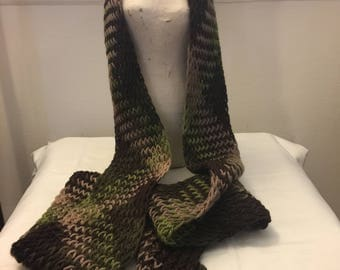 Wool Knit Scarf