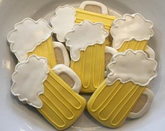 Beer Mug Cookies - 1 Dozen