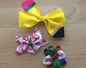 Monthly Hair Bow Subscription; Hair bow of the month; Girl Subscription; Hair Bow Membership; Hair Bow Club; Monthly Bows, Monthly Bow Box