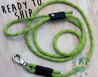 READY to SHIP! 8FT Kiwi Leash || Rock Climbing Rope Dog Leash || Handmade in the USA