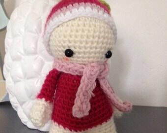"Little Pixie Doll ""lutinou"" cute radish"