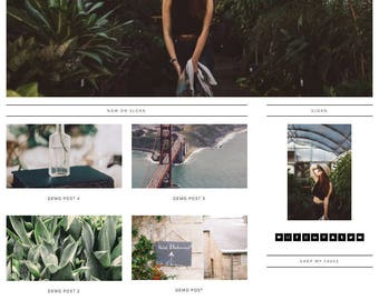 Responsive Wordpress Theme | Customizable Genesis Child Theme | Lifestyle, Travel, Design, Portfolio, Beauty, Fashion Blogs | SEO Optimized