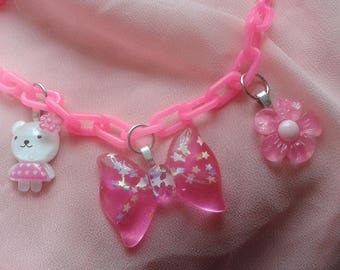 Pink Power Necklace!