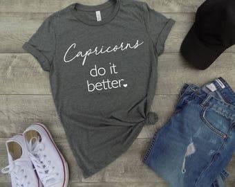 capricorns shirt - capricorn zodiac sign shirt - capricorn sign shirt - capricorn birthday gift - horoscope shirt -  gift for scorpio