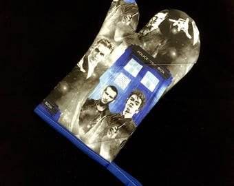 Doctor Who New Who Oven Mitt