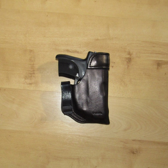 Leather Holster for LC9 with Metal Reinforced mouth, LC9 Holster custom crafted from premium leather for EDC, IWB