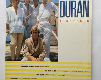 Vintage Duran Duran Japanese Book Welcome to our Fantasy