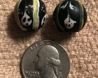 Two For One!! - VENETIAN GHOST BEADS, 1880's - African Trade Beads