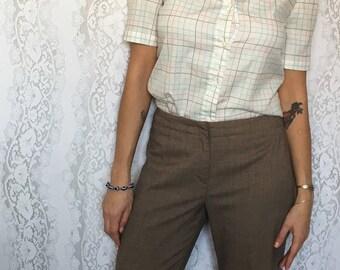 Vintage 80's/90's Harve Benard beige dress pants