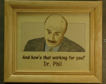 Dr Phil - portrait and quotes
