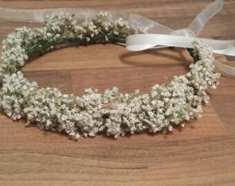 gypsophila flower crown