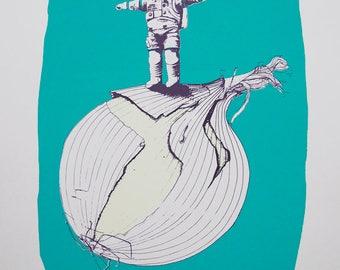Onionaut – #9 Standing on an Onion