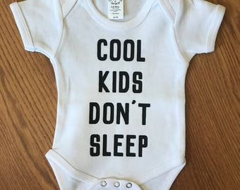 Custom Baby Onesie | Cool Kids | Baby Clothes | Sleeper | Baby Gift