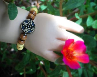 Chinese Coin Doll Bracelet