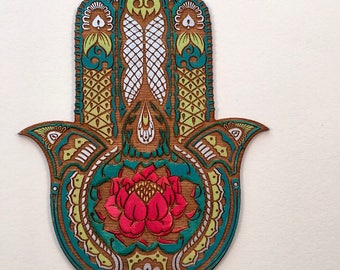 Hamsa Wall Art hamsa wall art | etsy