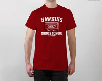 Hawkins Middle School AV Club shirt - Stranger Things Shirt - Stranger Things Tee - Eleven Hopper