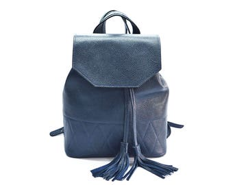 Sale!!! Leather backpack, women leather backpack, leather rucksack, leather purse, leather bag, small leather backpack, leather handbag