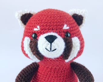 PATTERN: Rudy the Red Panda