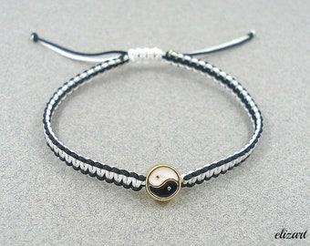 Yin yang bracelet, distance bracelet, yin yang jewelry, balance bracelet, harmony bracelet, energy bracelet, feng shui bracelet, yin yang.