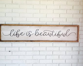 Life Quotes Etsy