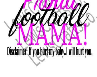 Football Mama SVG