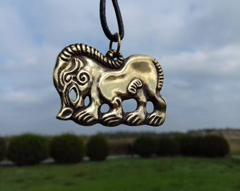 Boar pendant, Scythians jewelry, Pagan jewelry, Medieval age, Museum Replica, Animal style, ancient pendant, ethnic style, Pig wild hog,