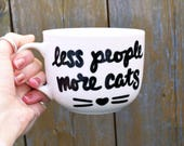 "Funny Cat Mug ""less ..."