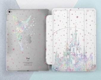 Tinker Bell & Magic Castle Disney iPad case iPad air case iPad mini 4 case iPad pro case iPad pro 10 5 case iPad pro 12 9 case iPad 5 case
