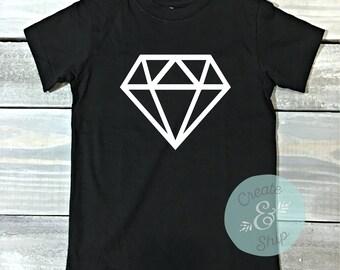 Diamond Shirt, Youth T Shirt, Kids Shirt, Toddler Shirts